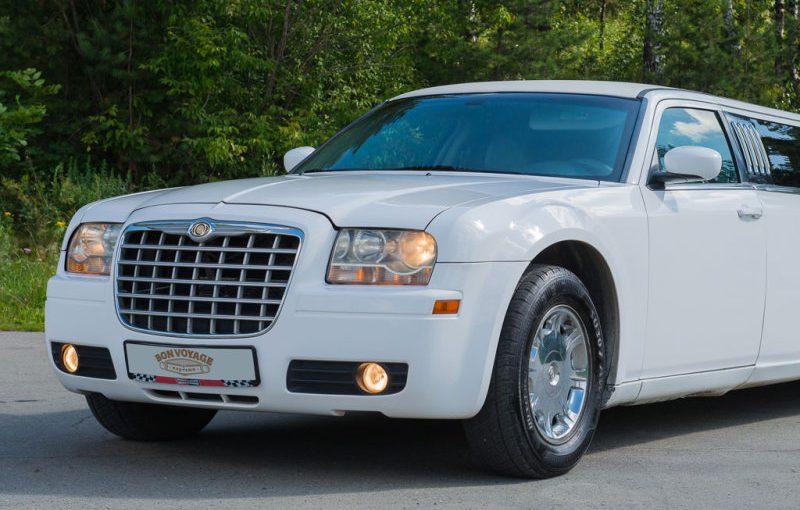 Лимузин Chrysler 300C White 10 мест